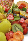 Close up on summer fruit Royalty Free Stock Images