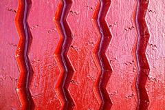 Close-up of summer tire colored in red Stock Photo
