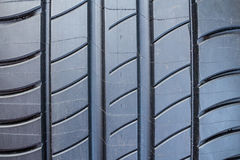 Close-up of summer tire Royalty Free Stock Image