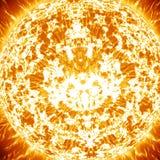 Close up of sun Stock Image