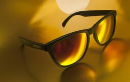 Close Up of Sunglasses Royalty Free Stock Images