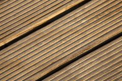 Wooden Deck Closeup Stock Photos
