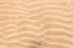 Close up surface beach sand packed curve background. Close up surface the beach sand packed curve background royalty free stock images