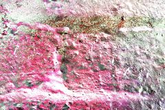 Close up surface of colorful paint sprayed on concrete and cement walls in high resolution vector illustration
