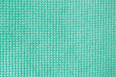 Close-up surface fabric pattern, light Tiffany color, texture background. For background , backdrop, substrate Stock Image