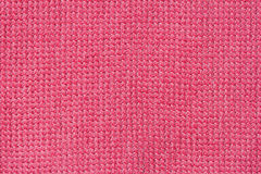 Close-up surface fabric pattern, pink texture background. For background , backdrop, substrate, composition use. Stock Photography