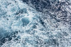 Close Up of the Surface of the Ocean #3 stock image