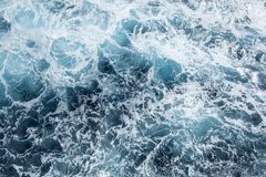 Close Up of the Surface of the Ocean #1 stock image