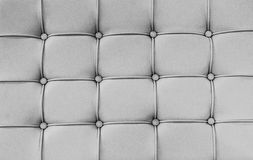 Close up surface PVC leather sofa for background Royalty Free Stock Photos