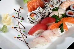 Close up sushi Stock Photos