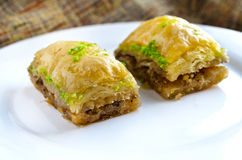 Close up of sweet baklava Stock Photo