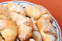 Sweet bread rolls Royalty Free Stock Images