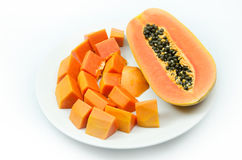 Sweet papaya Royalty Free Stock Images