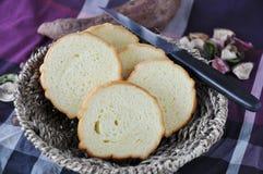 Close up Sweet Potato Bread royalty free stock image