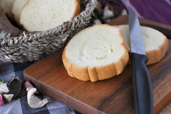 Close up Sweet Potato Bread on Board Stock Image