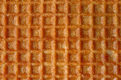 Close up sweet waffle Royalty Free Stock Photography