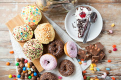 Close up of sweets on table Stock Photo