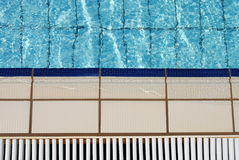 Close up of a swimming pool Royalty Free Stock Photos
