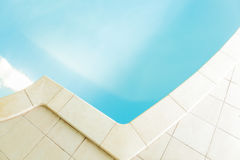 Close-up of swimming pool Stock Images