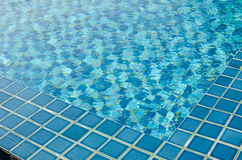 Close-up  of swimming pool Royalty Free Stock Photo