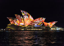 Close up of Sydney Opera House Royalty Free Stock Photo