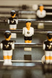 Close up of table football Stock Photos
