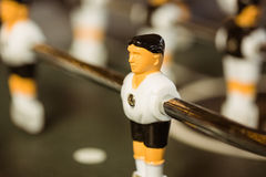 Close up of table football Stock Images