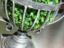 Close up of a table ornament. Table Decoration royalty free stock image