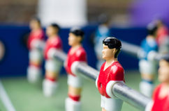 Close up table soccer Stock Photography