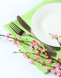 Close up of a tableware Stock Photos