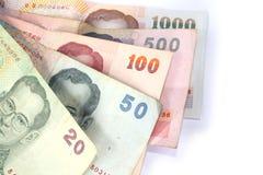 Close up tailandês do baht Foto de Stock Royalty Free