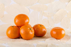 Close up of tangerines Royalty Free Stock Photo