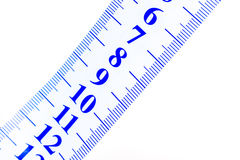 Close up of a tape to measure Royalty Free Stock Photo