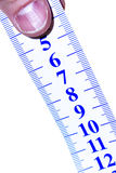 Close up of a tape to measure Stock Photos