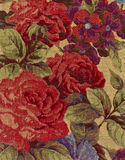 Close-up of tapestry fabric. Stock Photo