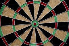Target dart board center point. Close up target dart board center point Stock Image