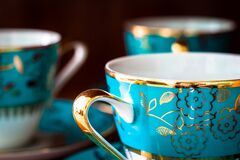 Close-up of Tea Cup Royalty Free Stock Image