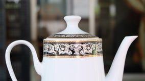 Close up of tea pot Stock Image
