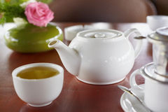 Vietnames teapot Stock Photography