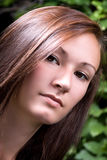 Close up on a Teenage Girl Stock Image