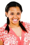 Close-Up Of Teenage Girl Smiling Royalty Free Stock Photography