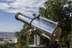 Close-up of a telescope. Stock Photography