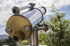 Close-up of a telescope. Royalty Free Stock Images