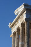 Close up of Temple of Athena Nike Royalty Free Stock Photo