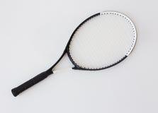 Close up of tennis racket Stock Image