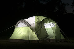 Close up of Tent Royalty Free Stock Photography