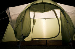 Close up of Tent Royalty Free Stock Photos