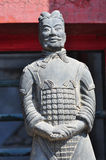 Close-up of terra cotta warrior Stock Photography