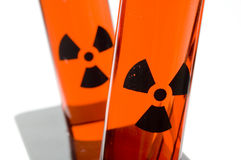 Close Up of Test Tubes Stock Photos