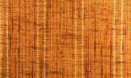 Close-up of a textile surface with orange and brown color Royalty Free Stock Photo